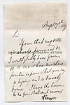 ALFRED, LORD TENNYSON (1809-1892) Autograph Letter Signed