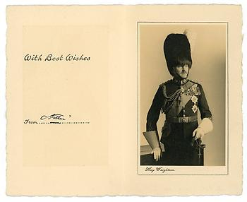 PRINCE ARTHUR OF CONNAUGHT (1883-1938) Photograph Signed