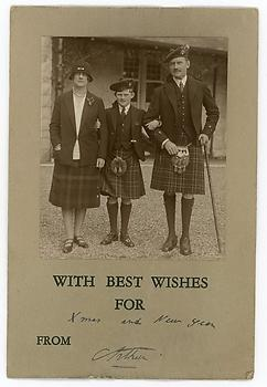 PRINCE ARTHUR OF CONNAUGHT (1883-1937) Photograph Signed