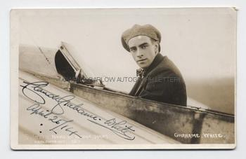 CLAUDE GRAHAME-WHITE (1879-1959) Signed Photograph