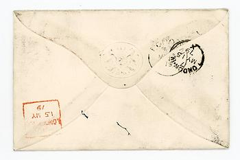 BENJAMIN DISRAELI (1804-1881) Autograph Letter Cover Signed