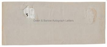 HENRY HALFORD (1766-1844) Autograph Official Bulletin Reporting on the Illness of William IV, Signed