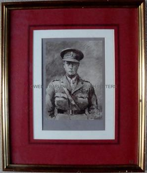 EDWARD VIII (1894-1972) Portrait Signed