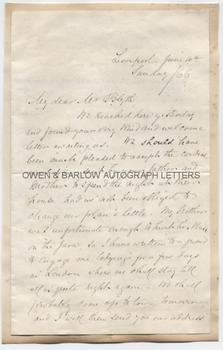 the letter blackwell elizabeth