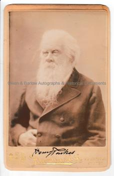 HENRY PARKES (1815-1896) Photograph Signed