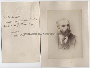 JOHN BURNS (1858-1943) Autograph Letter Signed