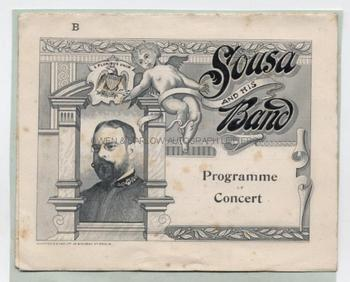 JOHN PHILIP SOUSA (1854-1932) Autograph Musical Quotation Signed