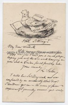 MARC-LOUIS SOLON (1835-1913) Autograph Letter Signed