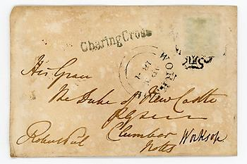 SIR ROBERT PEEL (1788-1850) Autograph Letter Cover Signed