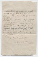 SIR ASTLEY PASTON COOPER (1768-1841) Autograph Letter
