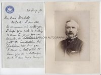 HENRY CAMPBELL-BANNERMAN (1836-1908) Autograph Letter Signed