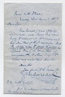 CHARLES DICKENS (1812-1870) Autograph Letter Signed