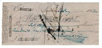 CHARLES DICKENS (1812-1870) Signed Cheque