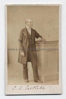 CHARLES LOCK EASTLAKE (1793-1865) Photograph Signed