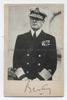 ADMIRAL DAVID BEATTY (1871-1936) Portrait Signed