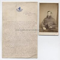 G.A. HENTY (1832-1902) Autograph Letter Signed