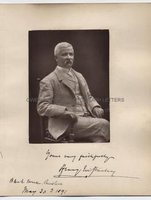 HENRY MORTON STANLEY (1841-1904) Photograph Signed