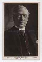 H. H. ASQUITH (1852-1928) Photograph Signed