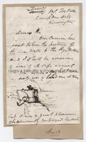JAMES CLARKE HOOK (1819-1907) Autograph Letter Signed