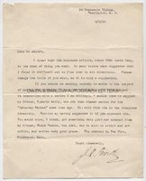 J.B. PRIESTLEY (1894-1984) Typed Letter Signed