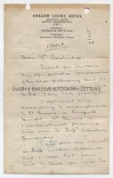 JOHN HAIGH (1909-1949) Autograph Letter Signed