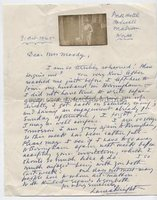 LAURA KNIGHT (1877-1970) Autograph Letter Signed