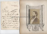 FREDERIC LEIGHTON (1830-1896) Autograph Letter Signed