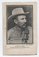 LOUIS BOTHA (1862-1919) Portrait Signed
