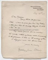 MABEL LUCIE ATTWELL (1879-1964) Autograph Letter Signed