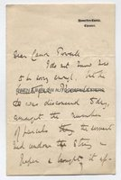 MARY GLADSTONE (1847-1927) Autograph Letter Signed