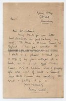 MARY WEBB (1881-1927) Autograph Letter Signed