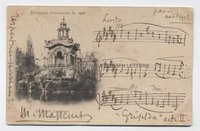 JULES MASSENET (1842-1912) Autograph Musical Quotation Signed