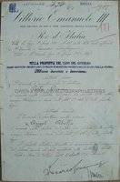 BENITO MUSSOLINI (1883-1945) and VICTOR EMMANUEL III (1869-1947) Document Signed