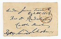 LORD RAGLAN (1788-1855) Autograph Letter Cover Signed