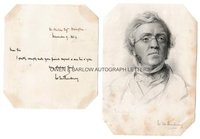 WILLIAM MAKEPEACE THACKERAY (1811-1863) Autograph Letter Signed