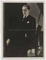 VLADIMIR HOROWITZ (1903-1989) Photograph Signed