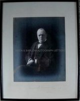WINSTON S. CHURCHILL (1874-1965) Signed Photograph